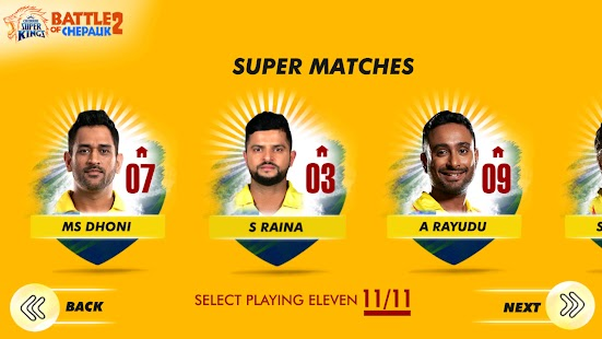 CSK Battle Of Chepauk 2 Screenshot