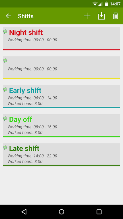 Shift Work Calendar (FlexR Pro)  poster 2
