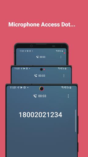 Access Dots - Android 12/iOS 14 privacy indicators  screenshots 3
