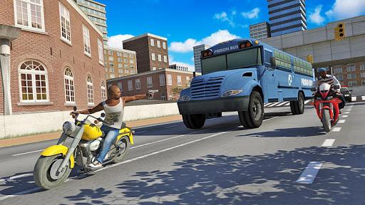 american police prisoner bus simulator- free games screenshot 3