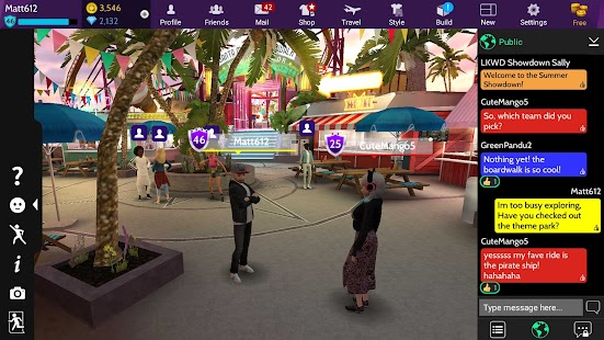 Avakin Life - 3D Virtual World Screenshot