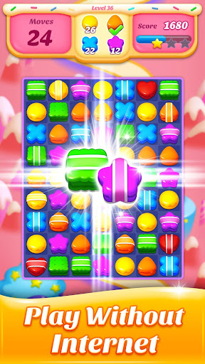Cookie Amazing Crush 2020 - Free Match Blast 8.8.3 screenshots 7