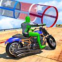 Superhero Bike GT Racing Game