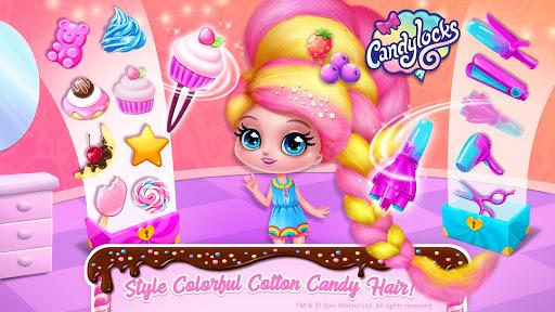 Candylocks Hair Salon - Style Cotton Candy Hair  Screenshots 6