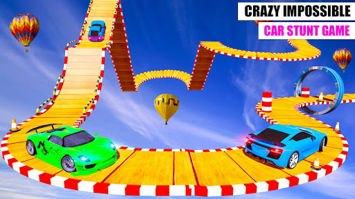 Ramp Car GT Racing Stunt Games 2020: New Car Games apkslow screenshots 12