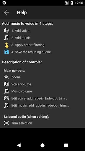 Add Music to Voice 2.0.4 Screenshots 8