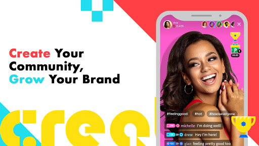 Pococha Live - Live Stream & Build Your Community apktram screenshots 1