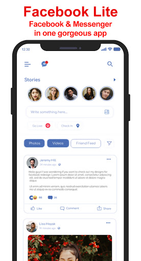 Messenger SMS & MMS android2mod screenshots 4