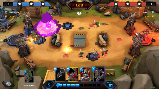 Steel Wars Royale - Multiplayer Strategy Game  screenshots 6