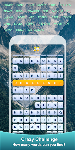Scrolling Words-Moving Word Game & Find Words  screenshots 5
