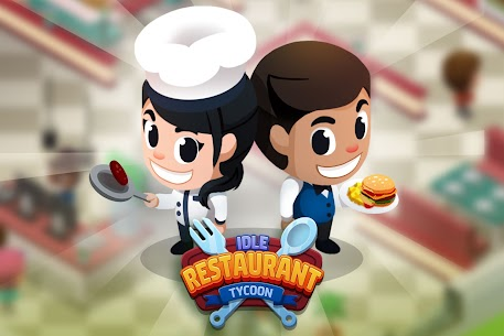 Free Idle Restaurant Tycoon – Cooking Restaurant Empire Apk Download 2021 3