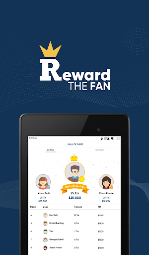 Reward The Fan Trivia screenshots 12