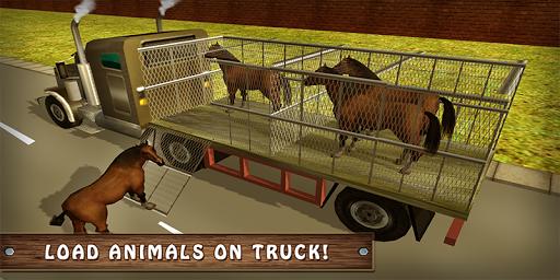 Wild Horse Zoo Transport Truck Simulator Game 2018 1.8 screenshots 3
