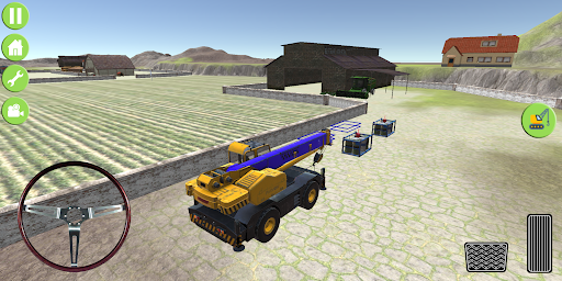 Heavy Excavator Jcb City Mission Simulator screenshot 2