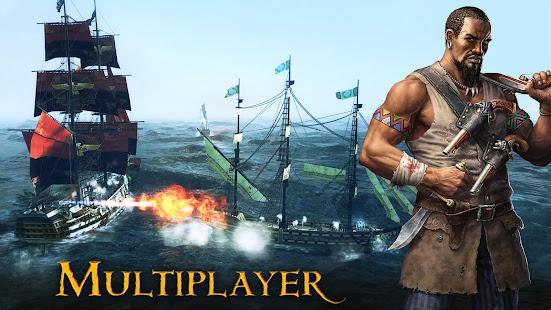 Pirates Flag: Caribbean Action RPG [v1.5.1] APK Mod for Android logo