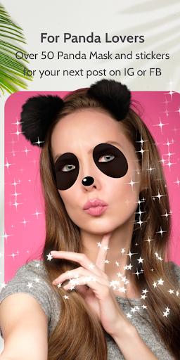 Panda Face Mask photo Editor Apk 1