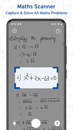 Math Scanner By Photo - Solve My Math Problem android2mod screenshots 1