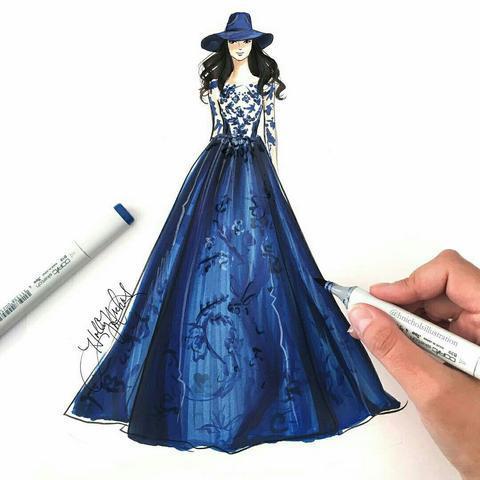 Creative Fashion Design Flat Sketch Ideas  Screenshots 17