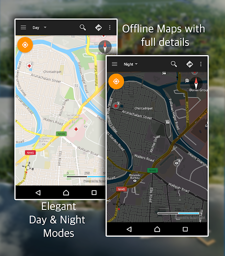 Offline Map Navigation - Live GPS, Locate, Explore 1.3.6.8 Screenshots 8
