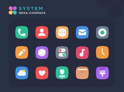 Nexa Icon Pack 1.5.1 screenshots 1