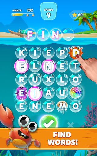 Bubble Words - Word Games Puzzle  screenshots 7
