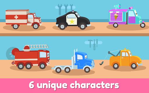 Car City Heroes: Rescue Trucks Preschool Adventure android2mod screenshots 10