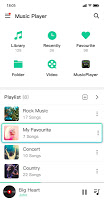 Music player & Video player with equalizer