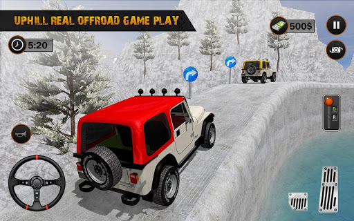 Offroad Jeep Driving Simulator : Real Jeep Games Apkfinish screenshots 8