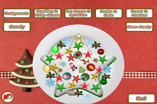 Christmas Cake Maker Bake & Make Food Cooking Game screenshots 1