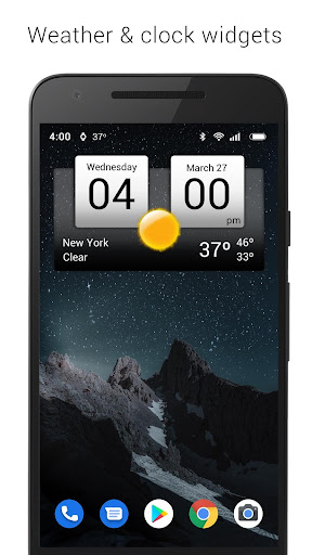 Digital clock & world weather 5.83.2 Screenshots 1
