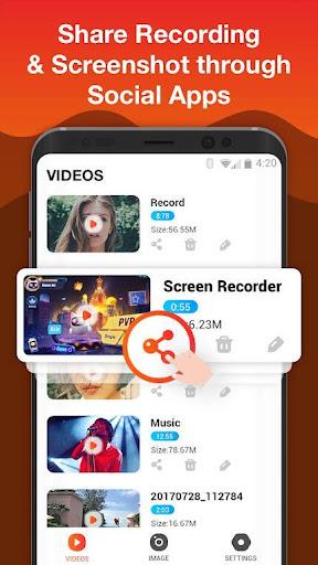 Screen Recorder for Game, Video Call, Screenshots  Screenshots 4