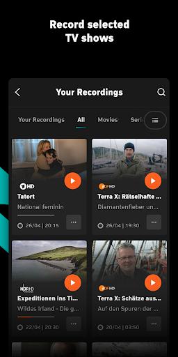 Zattoo - TV Streaming App apktram screenshots 5
