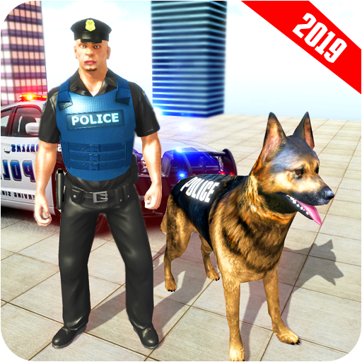 Us Police Dog City Crime Mission