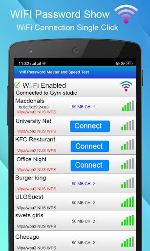 WiFi Password key Show - WiFi Analyzer  screenshots 1