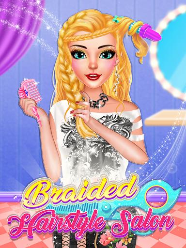 Braided Hairstyle Salon: Make Up And Dress Up  screenshots 15