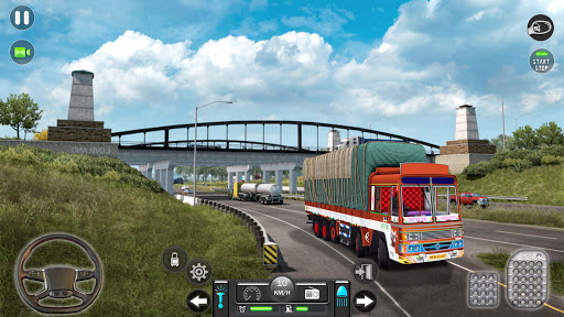 Real Mountain Cargo Truck Uphill Drive Simulator android2mod screenshots 7
