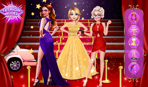 super stylist dress up: New Makeup games for girls Apkfinish screenshots 9
