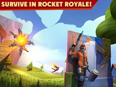 Rocket Royale 2.1.7 MOD APK [INFINITE MONEY] 1