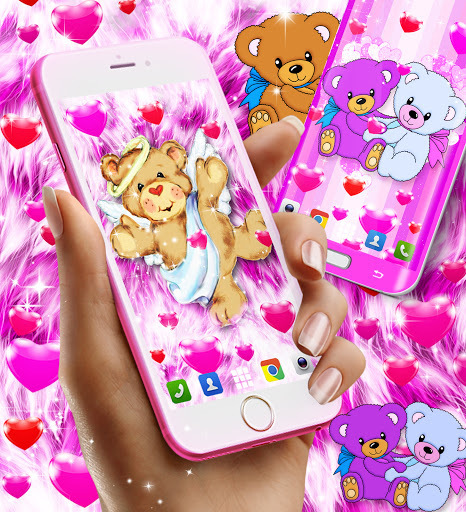 Teddy bear live wallpaper apktram screenshots 4