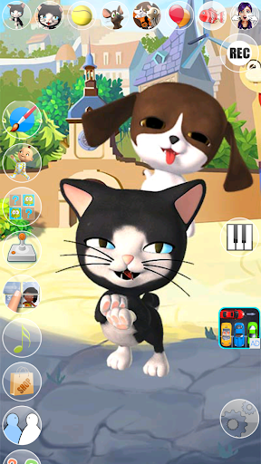 Talking Cat and Dog Kids Games  screenshots 17