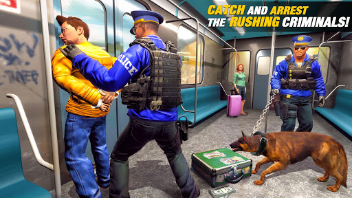 US Police Dog Subway Simulator Gamesu2013Crime Chase 1.0.14 screenshots 7
