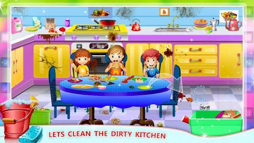 Girls House Cleaning Gamesu2013 Home Mansion Clean Up 1.2 screenshots 4