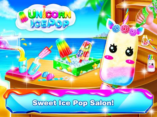 Unicorn Icepop - Ice Popsicle Mania apktram screenshots 1