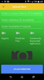 Farmstand Finder Screenshot