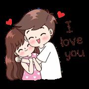 Romantic Couple Stickers - WAStickerApps