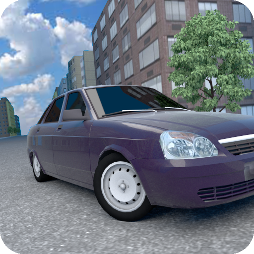 Tinted Car Simulator Icon