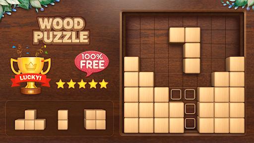 Wood Block Puzzle 3D - Classic Wood Block Puzzle apktram screenshots 15