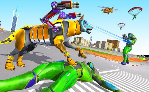 Wolf Robot Transforming Games u2013 Robot Car Games android2mod screenshots 5
