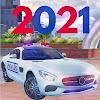 Real 911 Mercedes Police Car Game Simulator 2021