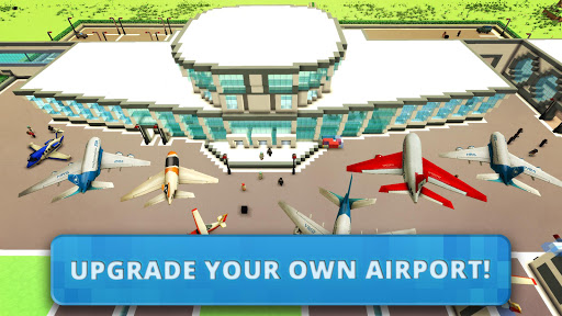 Airport Craft: Fly Simulator Boys Craft Building  screenshots 2